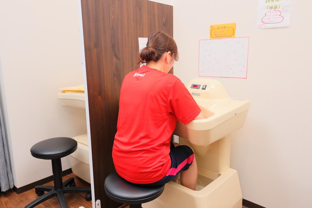 自律神経を整え、冷え症やむくみなどの改善につながる「ゲルマニウム温浴」