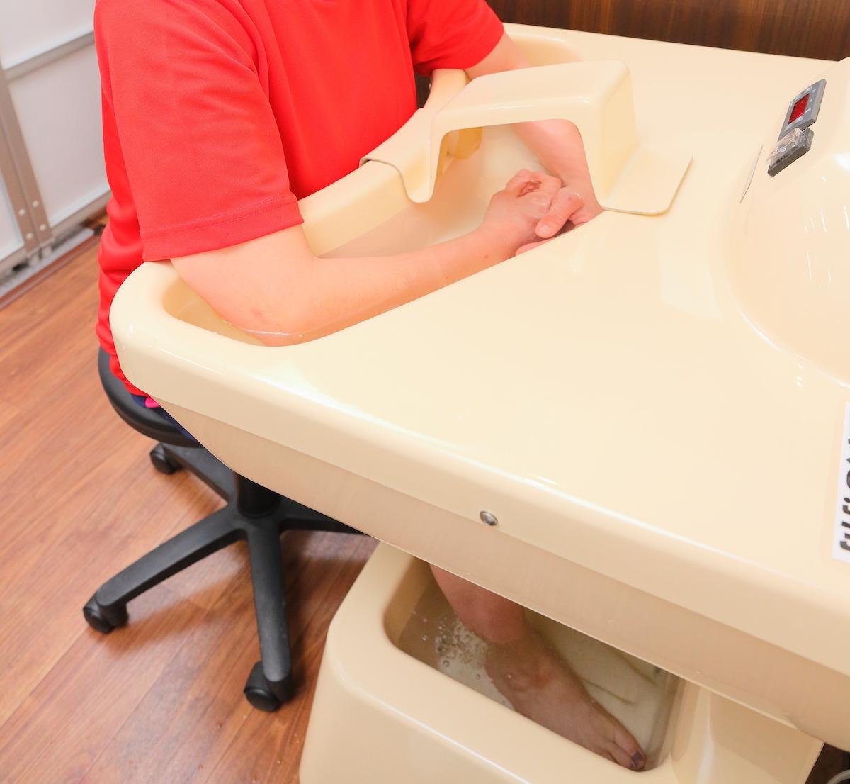 「ゲルマニウム温浴」自律神経を整え、冷え症やむくみなどの改善に。